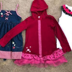 Blueberi Boulevard Dresses - Girls 4 T dress Bundle